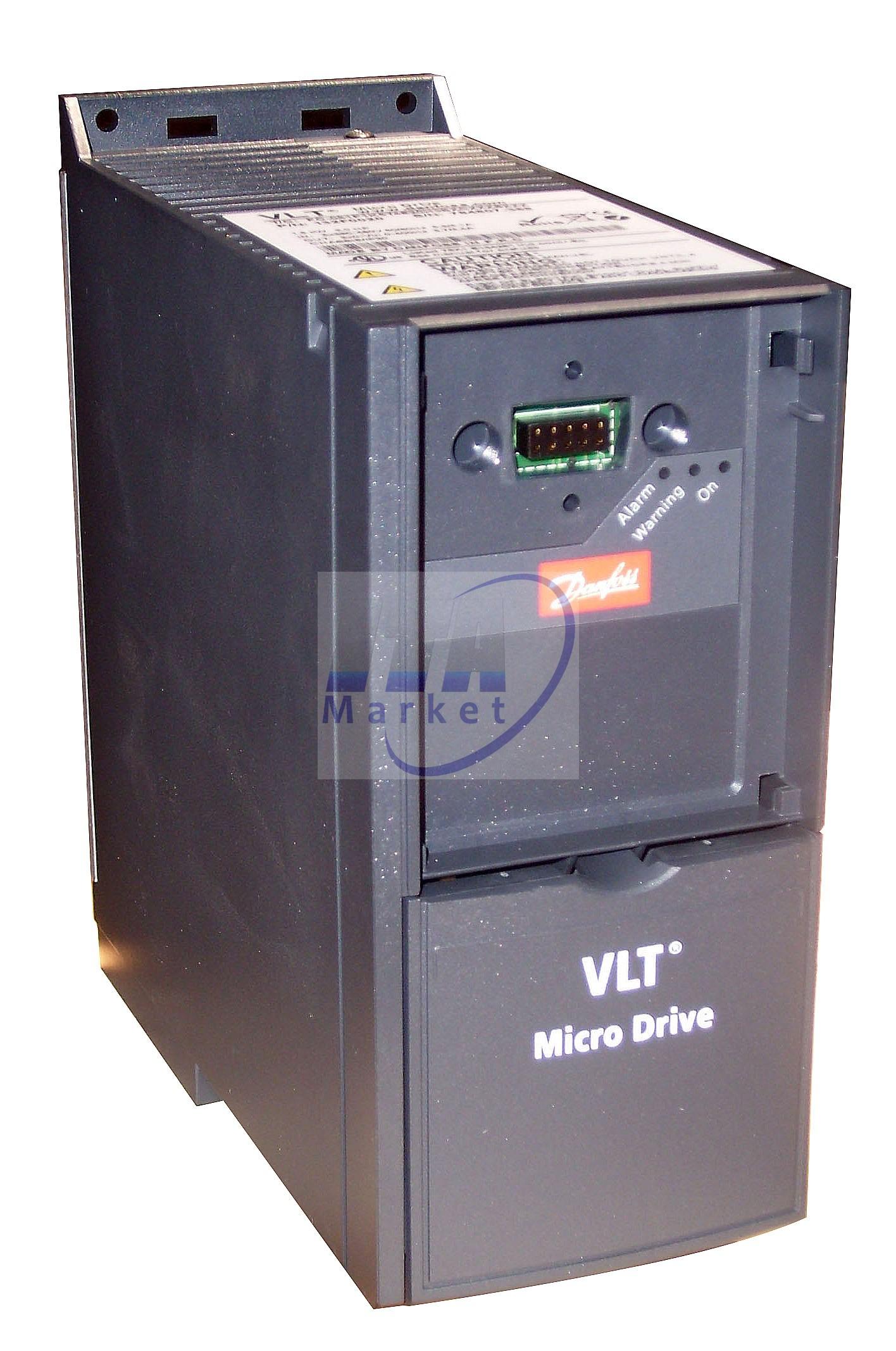 VARIADOR DE FRECUENCIA DANFOSS 380VAC_MOD.VLT-2855_ 5.5KW-7_5HP